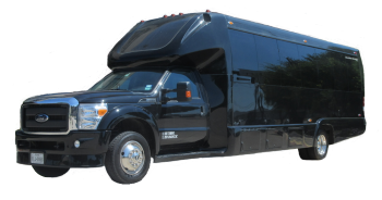 28 Passenger Luxury Limo Bus