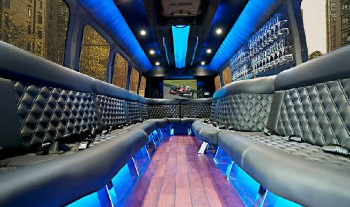 Luxury Limo Bus Interior