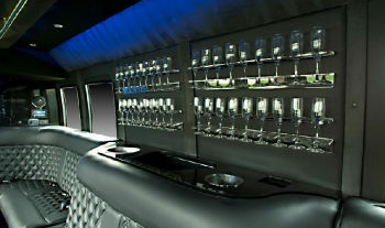 Luxury Limo Bus Interior 3