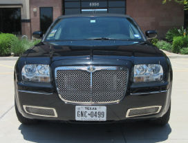 Front View Chrysler Limo