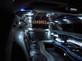 Chrysler Limo Interior