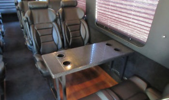 Executive Shuttle Bus Austin Interior 2