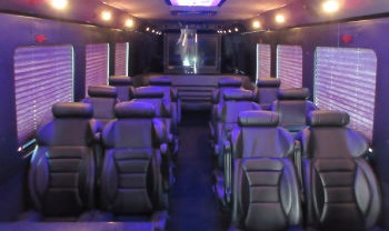 Executive Shuttle Bus Austin Interior 3