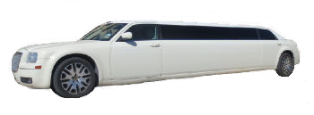 Austin white Chrysler stretch limousine
