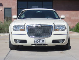 White Chrysler front